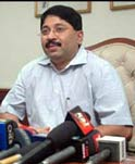 Dayanidhi Maran the Union minister for Textiles